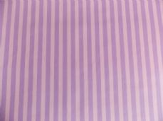 Lilac with White Stripe 100% Cotton Fabric